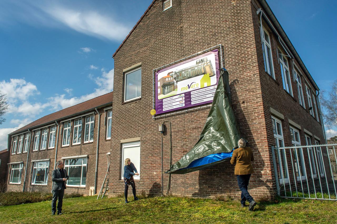 Start verbouwing Kakertshöfke tot nieuw kantoor MOVARE